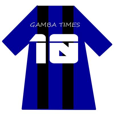ガンバ大阪ユニ背番号10(10月)