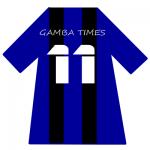 ガンバ大阪ユニ背番号11(11月)