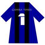 ガンバ大阪ユニ背番号1(1月)