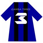 ガンバ大阪ユニ背番号3(3月)