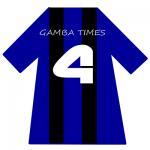 ガンバ大阪ユニ背番号4(4月)