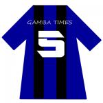 ガンバ大阪ユニ背番号5(5月)