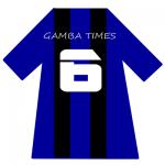 ガンバ大阪ユニ背番号6(6月)